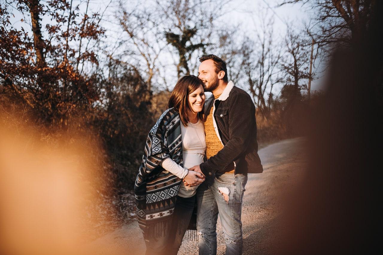 Servizio fotografico di gravidanza Viterbo