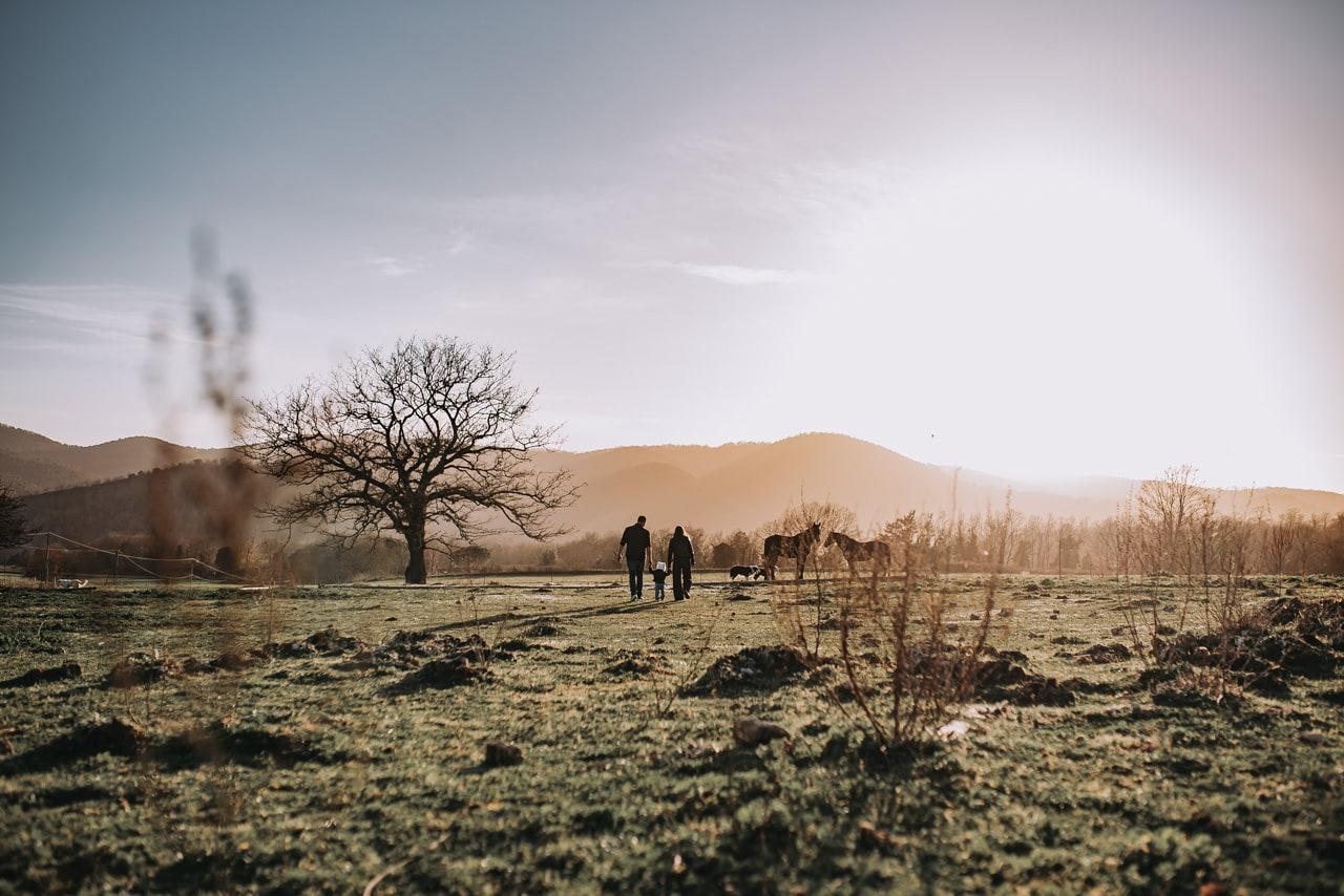 Servizio Fotografico Di Famiglia Lazio e Toscana