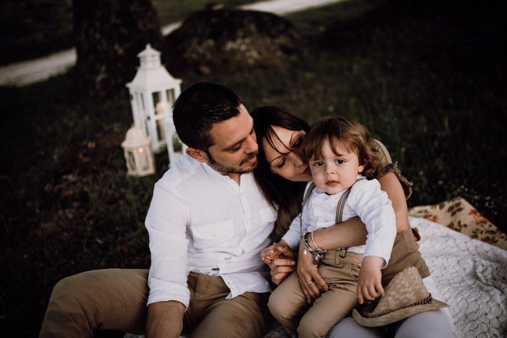 Noemi Federici: Servizio Fotografico Famiglia Viterbo All'aperto.